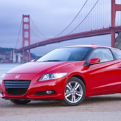 The new 2011 CR-Z put to the Road Test Poster