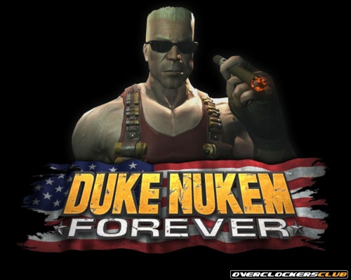 Duke Nukem Forever Poster