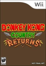 Donkey Kong Country Returns Poster