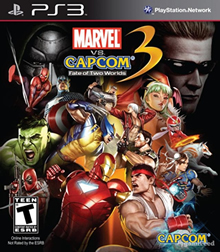 Marvel Vs Capcom 3 Fate of Two Worlds GamePlay Poster