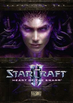 Starcraft 2 Expansion Heart of the Swarm Poster
