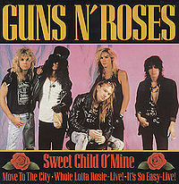 Sweet Child o' Mine Poster