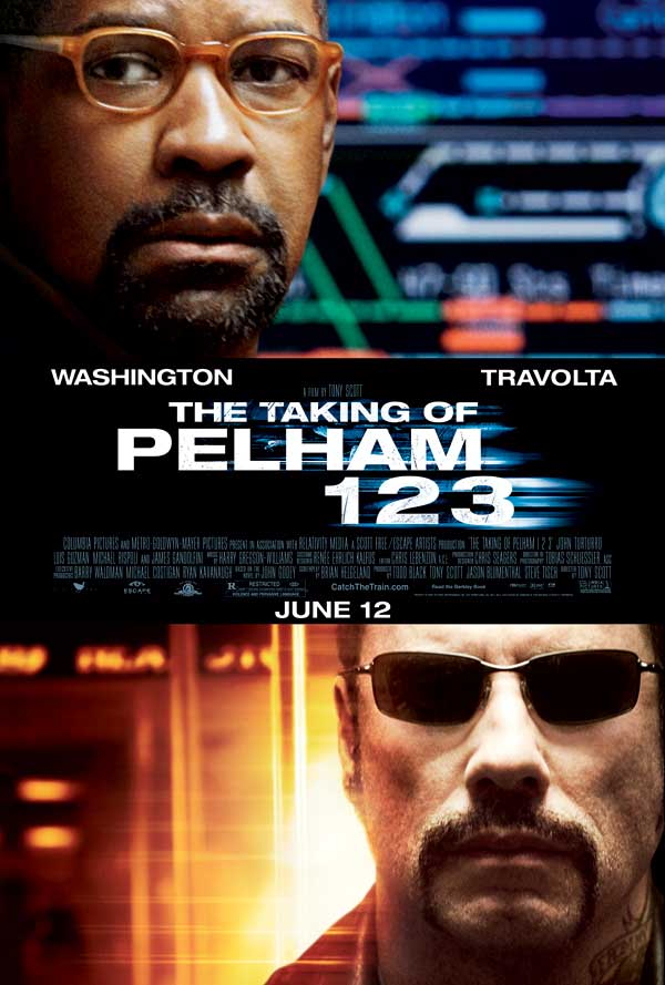 The Taking of Pelham 1,2,3 Poster