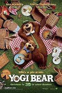 Yoga Bear Poster
