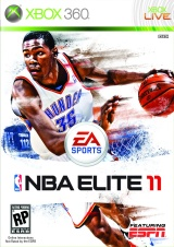 NBA Elite 11 Poster
