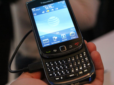 Hands-on with the BlackBerry Torch
