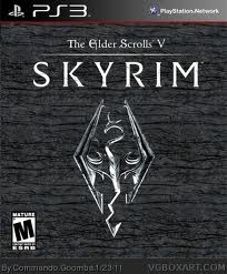 The Elder Scrolls V- Skyrim Poster