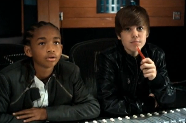 Never Say Never ft. Jaden Smith  Poster